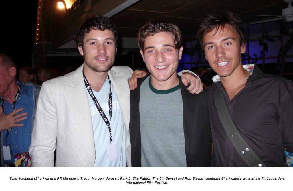 Rob Stewart, Tyler MacLeod and dude