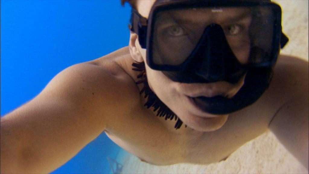 Rob Stewart free diving