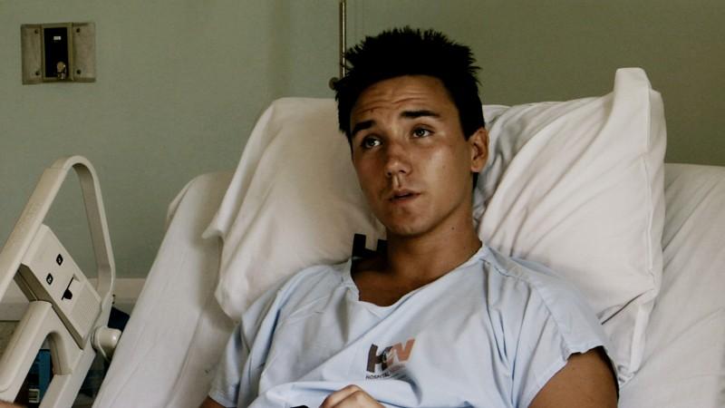 Rob Stewart in hospital 3