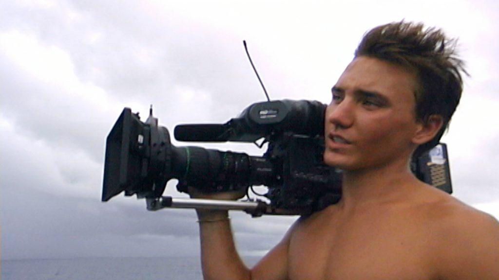 Rob Stewart with HD Camera