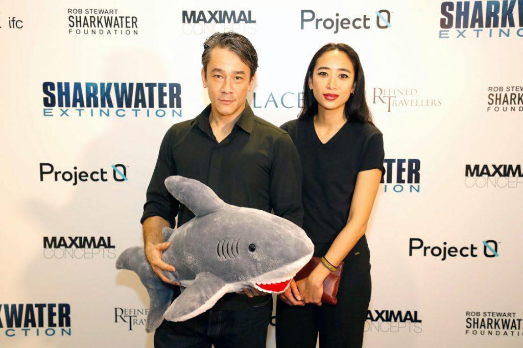 Hong Kong stars Carl Ng and Angela Goh